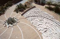 Πλατεία Muhammad Ali, με το αμφιθέατρο Σκαλοπάτια που χορεύουν και το Σιντριβάνι Αστέρι, Κεντάκι, 2002-09, 1 οικ. τετρ. Φωτο. Richard Spear
